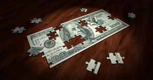 紙幣のパズル